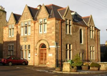 Photograph of Dornoch Library