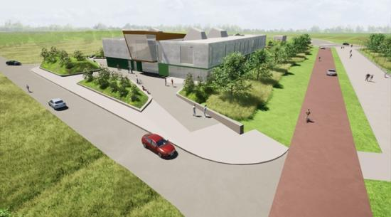 Photograph of Planning application lodged for new innovation centre on Inverness Campus