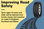Thumbnail for article : Government Bans Old Coach, Bus And Lorry Tyres From Roads In New Measures To Improve Road Safety