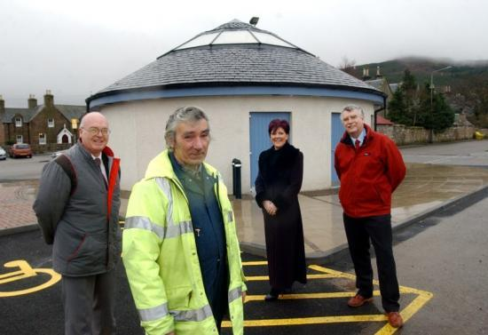 Photograph of New Toilet Block Opened at Golspie