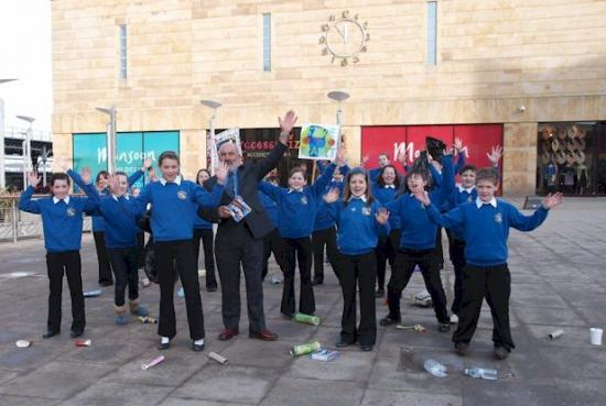 Pupils Clean Up At Anti Litter Awards Sutherland