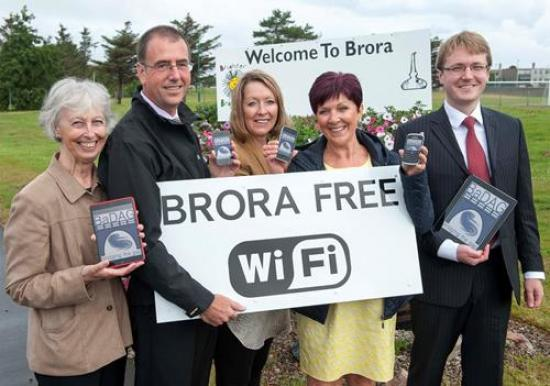 Photograph of Free Wifi Hot Spot For Brora