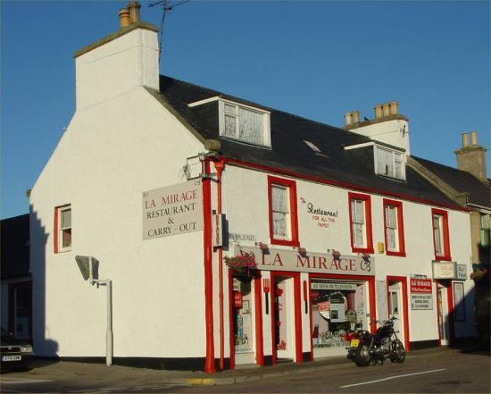 Photograph of La Mirage Restaurant In Helmsdale Up For Sale