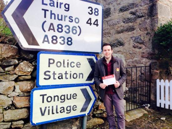 Photograph of LABOUR CANDIDATE FOLLOWS NORTH COAST 500 ON THE CAMPAIGN TRAIL