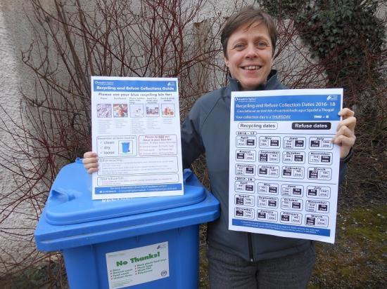 Photograph of New bin collection calendars now available on Highland Council website!