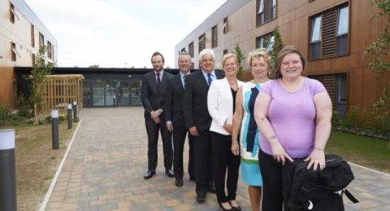 Photograph of University of the Highlands and Islands opens residences on Inverness Campus