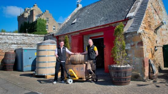 Photograph of Dornoch Brothers Raise a Glass to New Micro Distillery