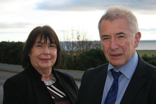 Photograph of New Chair for Sutherland Committee